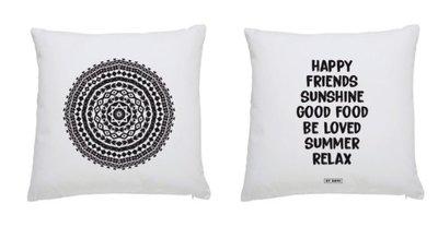 Buitenkussen MANDALA/HAPPY FRIENDS/ BY ROMI