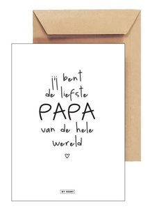 Kaart Voor de liefste Papa