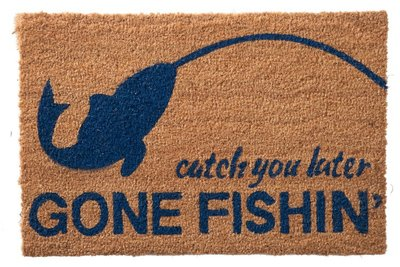 deurmat voor de visser hengelsport