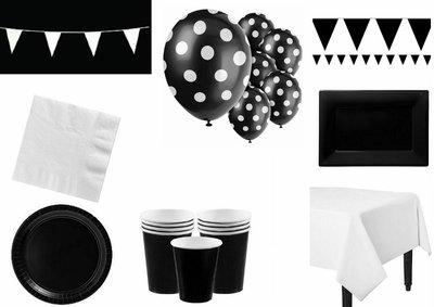 Feestpakket  Zwart-Wit