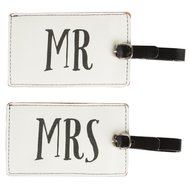 koffer labels man vrouw mr mrs