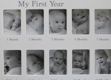 "Fotolijst ""My First Year""  Wit"